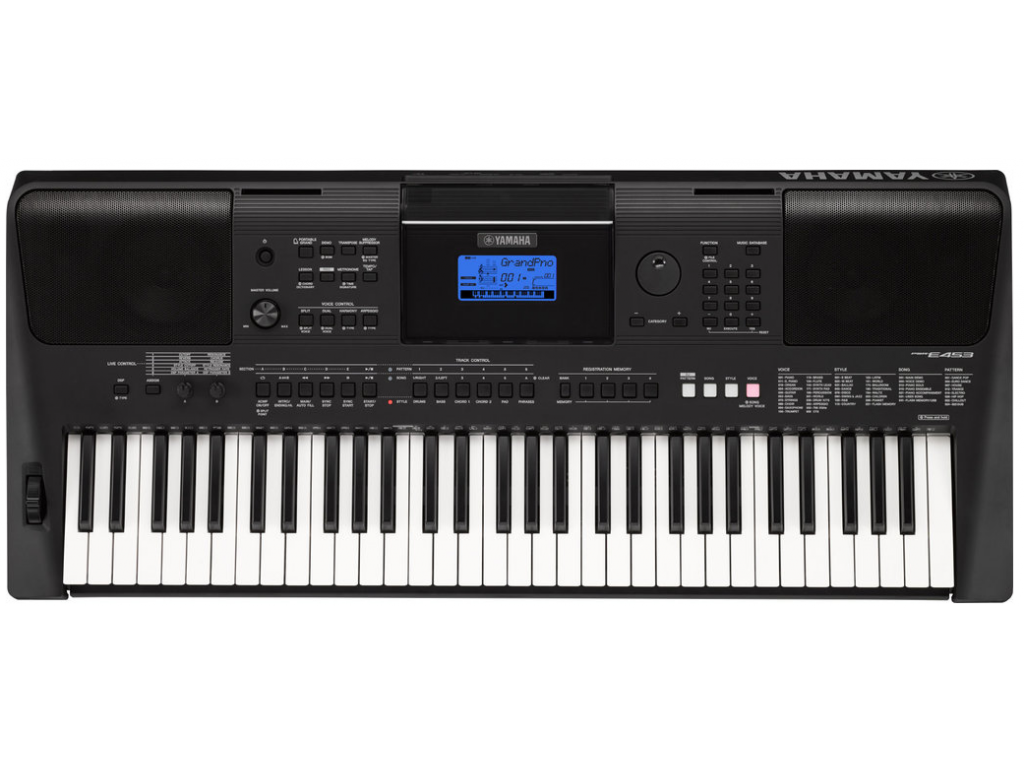 keyboard yamaha psr e453. Black Bedroom Furniture Sets. Home Design Ideas