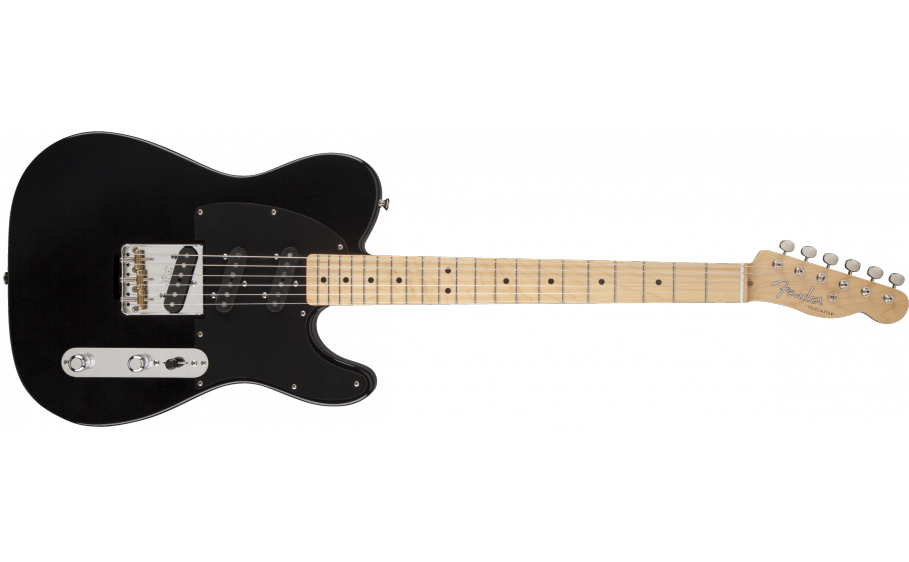 Fender Classic Player Triple Tele Maple Fingerboard, Black